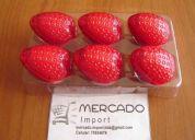 Brillo labial frutillita bicolor, perfumado agradable aroma a frutillas frescas  a $ 1.000