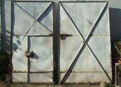Porton  metalico