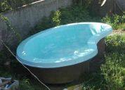 Vendo piscina de  fibra