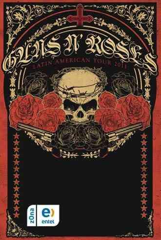 2 Entradas Para Guns And Roses P.BAJA PREFERENCIAL NUMERADO