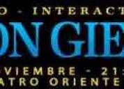 entradas platea alta central- leon gieco - teatro oriente -03/11/2011
