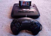 Sega genesis con salida a / v ( maxima resolucion) + juegazo