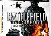 Vendo juegos de ps3  battlefield bad company 2 - gta iv complete edition - pes 2011