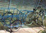 carro bicicleta y triciclo vta helados cabritas