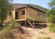 Vendo parcela de agrado de 5000m2 con cabaña de madera en pelarco, vii región
