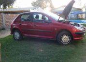 Peugeot 206 2004 permuto o vendo sello verde  sin restricción de zona full