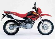 Por cambio de ciudad, vendo moto  honda  xr125 l  (50 km)