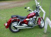 Vendo moto keeway super light 150, 2010, como nueva