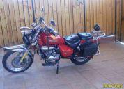 Vendo moto chopera motorrad 200cc
