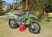 Vendo moto kawasaki kxf 450