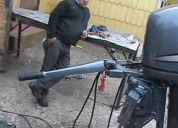 motor fuera borda 50 hp 4 tiempos, pata extra larga