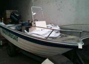 Lancha masterboat con motor mercury 70 hp