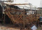 Fabrico lanchas y botes para pesca artesanal
