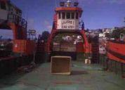 Vendo barcaza de acero eslora 21,6 mts