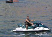 Vendo moto de agua  para dos personas por apuro con carro..