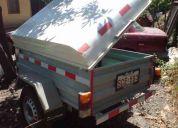 Venta de carro arrastre capacidad 500kg