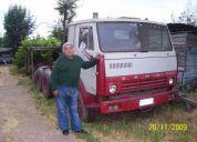 Vendo camion kamaz 1995 modelo 54112, tracto funcionando original en $ 3.000.000 conversab
