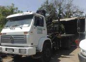 Vendo camion pluma con grua hiab 140 aw