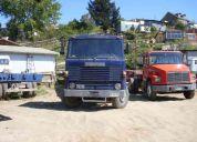 Vendo camiones especiales para el porteo