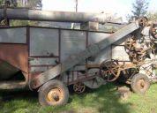 Se vende maquina cosechera de planta