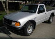 Ford ranger 2.3 xl cs hidraulica 1996 usa. $ 3.300.000.-color plata