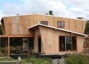 Panel sip tp, casas, cabañas, envolvente termico