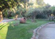 Casa - parecela- parque