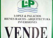 Lopez & palacios inversiones ..vende a quillon