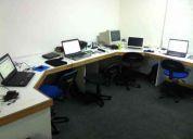 Business center o estaciones de trabajo