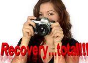 Cómo recuperar fotos borradas por accidente sd, ms, mf, mx , sdhc, hd