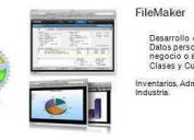 Desarrollos de bases de datos en filemaker pro 11