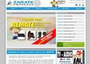 Diseño paginas web - sitios web administrables