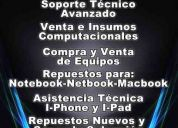 Servicio tecnico computacional ,notebook, mac,pc,netbook