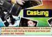 Casting modelos publicitarios