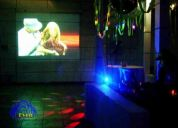 Audio profesional, productora de eventos, fiestas, matrimonios