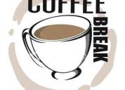 Servicios de coffee break y eventos de banqueteria en gral.