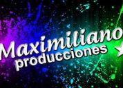 Maximiliano producciones eventos