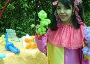 Animaciones infantiles, fiestas de cumpleaÑos con payasitas, fono.6692764