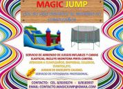 Arriendo juegos inflables y camas elasticas (rancagua y alrededores)