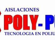 Aislaciones  poly - pur  ingenieria termica