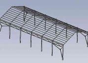 estructuras metalicas , portones , rejas , protecciones metalicas
