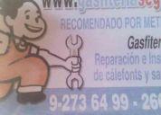 Gasfiteria segura gasfiter inacap 92736499