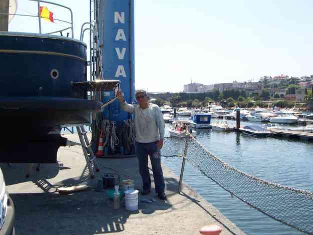 Reparaciones embarcaciones.