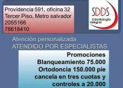 Ortodoncia promoción
