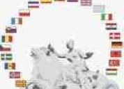 Traducciones en de calidad y económicas en alemán, español, francés, ingles e italiano.