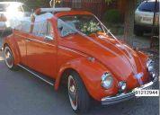 Arriendo escarabajo convertible para  matrimonios