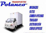 Mudanzas fletes transportes polanco v region santiago regiones
