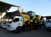 Camion para transporte y arriendo retroexcavadora