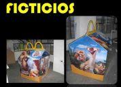 ** ficticios  **