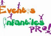 Animación, evento, fiesta, cumpleaños infantil, juegos inflables y más!